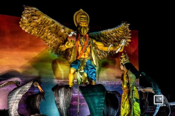 Pulikali Festival Thrissur Kerala 2015-110
