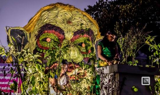 Pulikali Festival Thrissur Kerala 2015-86