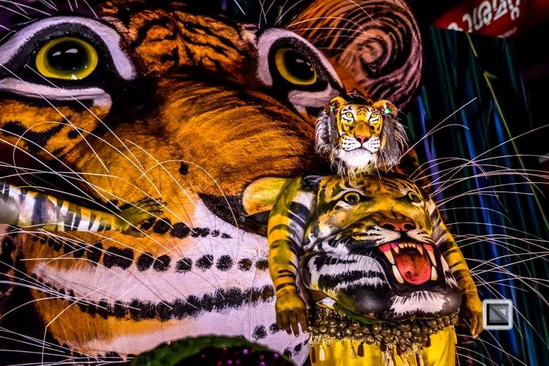 Pulikali Festival Thrissur Kerala 2015-88