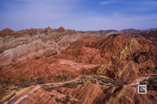 China - Gansu - Danxia Landform-17