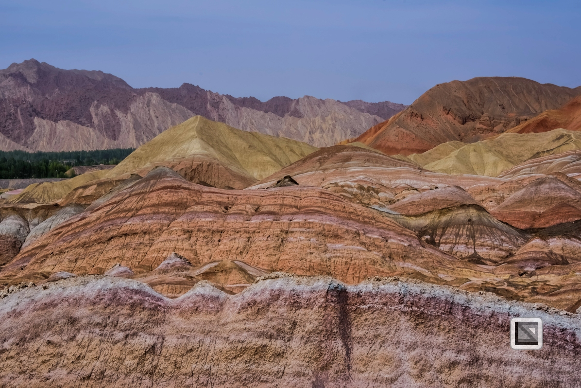 China - Gansu - Danxia Landform-19