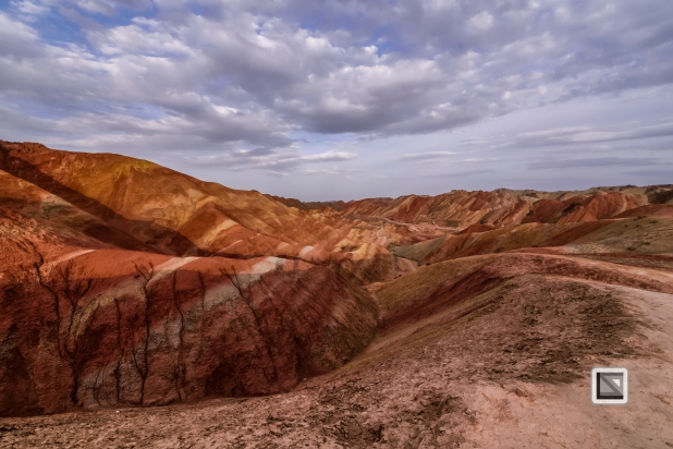 China - Gansu - Danxia Landform-35