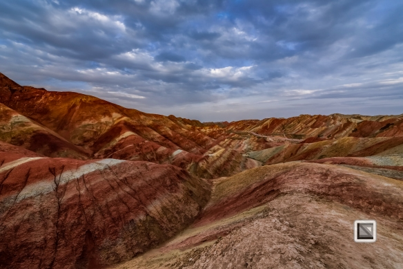 China - Gansu - Danxia Landform-42