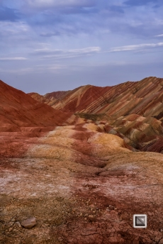 China - Gansu - Danxia Landform-45