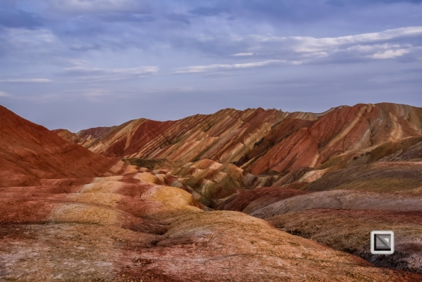 China - Gansu - Danxia Landform-46