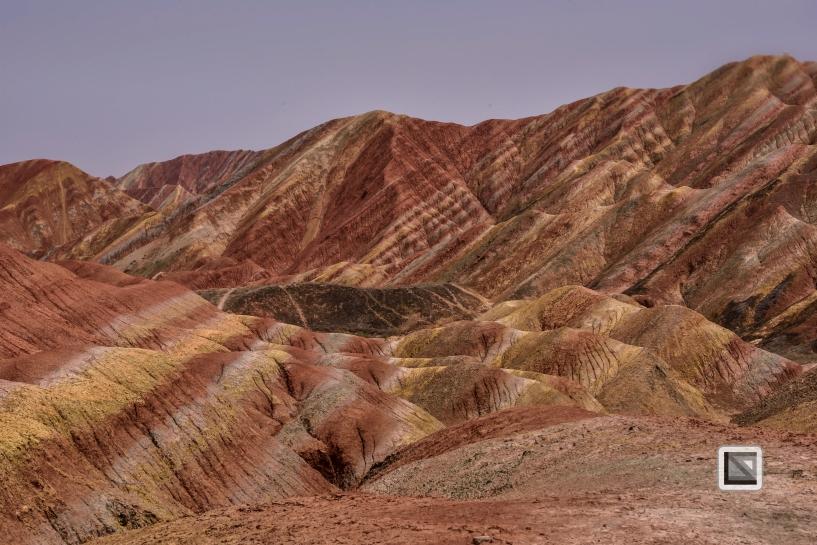 China - Gansu - Danxia Landform-5