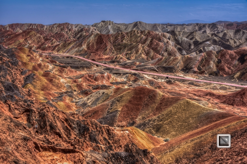 China - Gansu - Danxia Landform-9