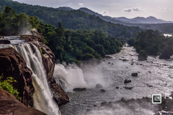 India - Kerala - Athirapally Falls-7