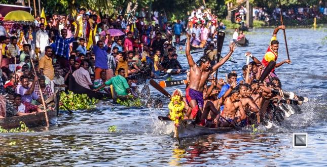 India - Kerala - Kumarakom Boat Race-8