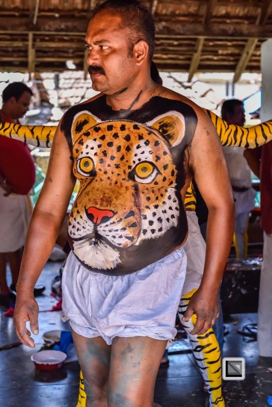 India - Kerala - Thrissur - Onam Festival - Pulikali-2