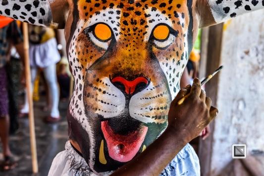 India - Kerala - Thrissur - Onam Festival - Pulikali-24