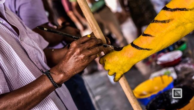 India - Kerala - Thrissur - Onam Festival - Pulikali-32