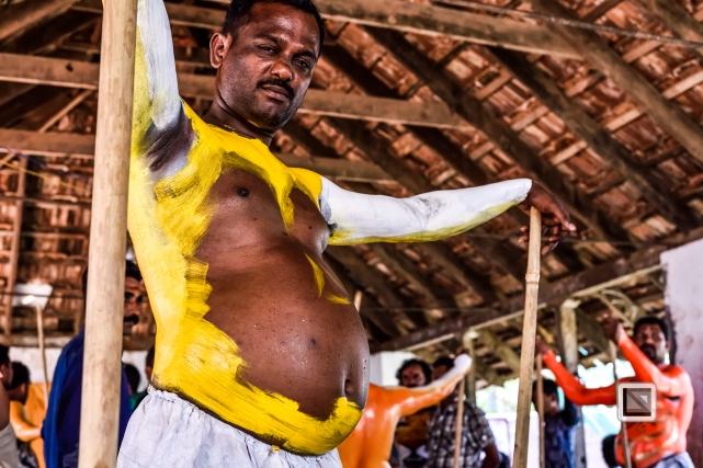 India - Kerala - Thrissur - Onam Festival - Pulikali-42