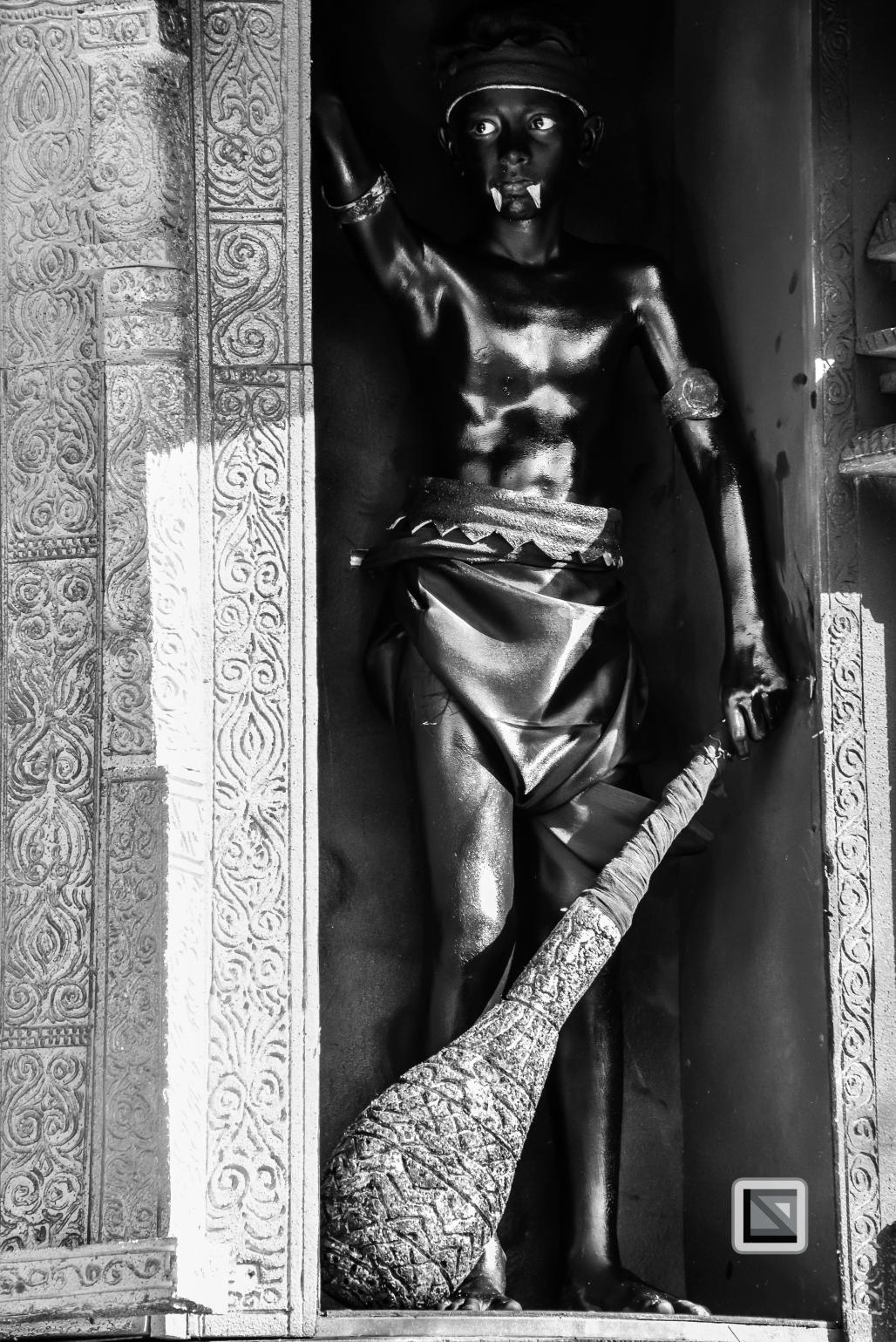 India - Kerala - Thrissur - Onam Festival - Pulikali-53