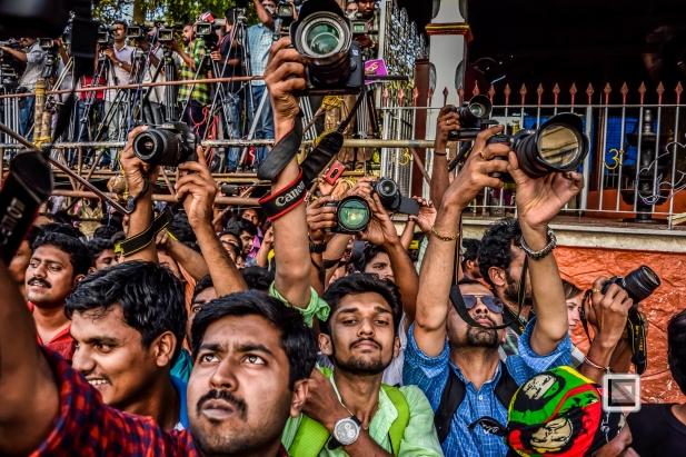 India - Kerala - Thrissur - Onam Festival - Pulikali-59