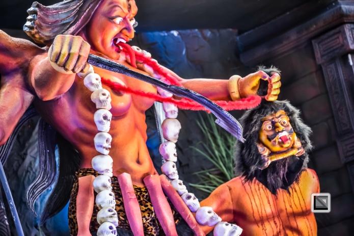 India - Kerala - Thrissur - Onam Festival - Pulikali-64