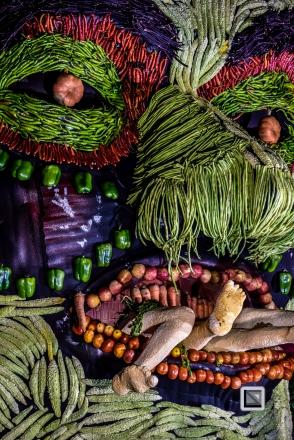 India - Kerala - Thrissur - Onam Festival - Pulikali-77