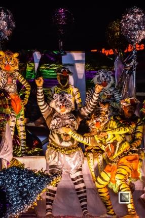 India - Kerala - Thrissur - Onam Festival - Pulikali-87