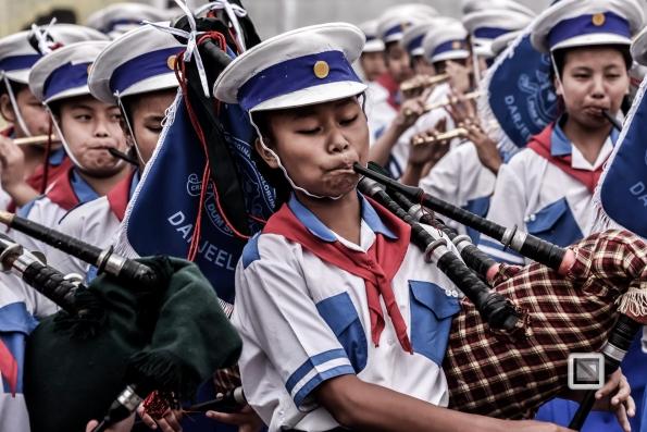 India - West Begal - Darjeeling - Independence Day Celebration-11