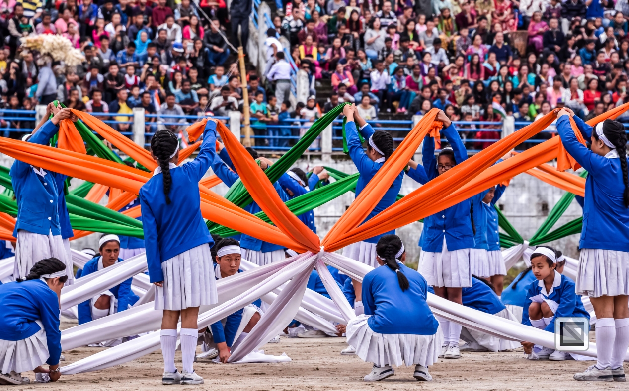 India - West Begal - Darjeeling - Independence Day Celebration-20