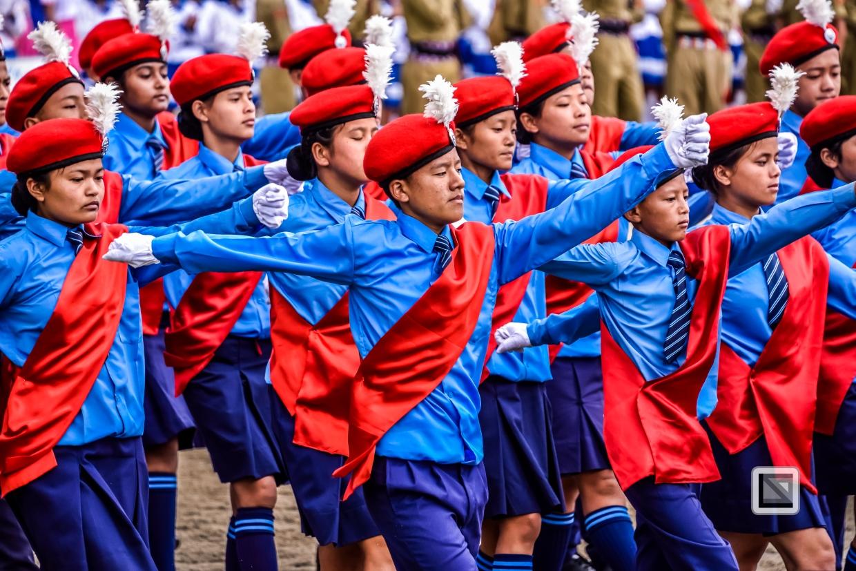 India - West Begal - Darjeeling - Independence Day Celebration-7