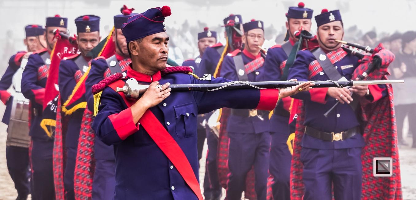 India - West Begal - Darjeeling - Independence Day Celebration-9