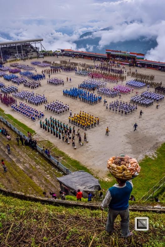 India - West Begal - Darjeeling - Independence Day Celebration