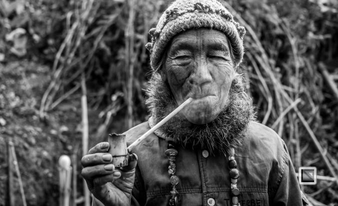 Myanmar Chin Tribe Portraits Black and White-14