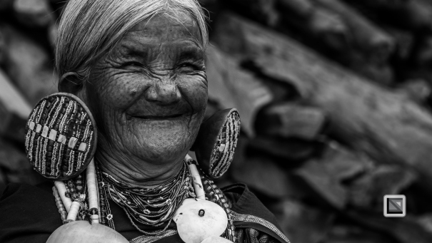 Myanmar Chin Tribe Portraits Black and White-6