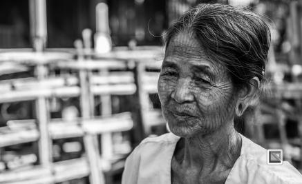 Myanmar Chin Tribe Portraits Black and White Mrauk-U-19
