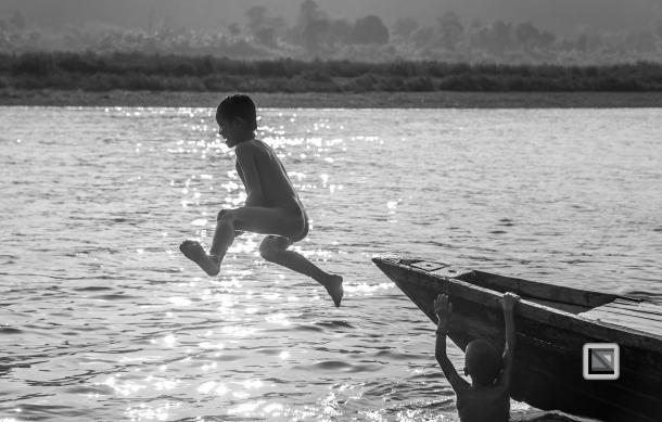 Myanmar Chin Tribe Portraits Black and White Mrauk-U-25