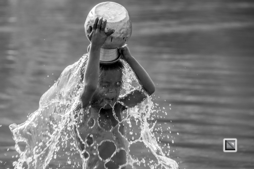 Myanmar Chin Tribe Portraits Black and White Mrauk-U-34