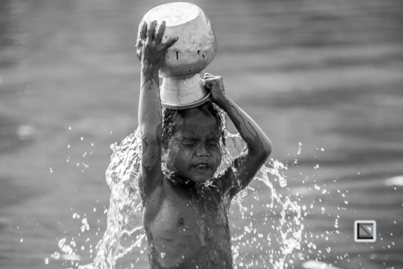 Myanmar Chin Tribe Portraits Black and White Mrauk-U-35