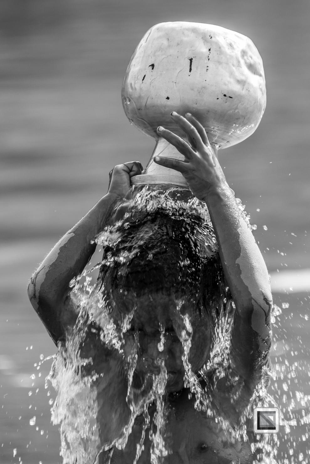 Myanmar Chin Tribe Portraits Black and White Mrauk-U-37