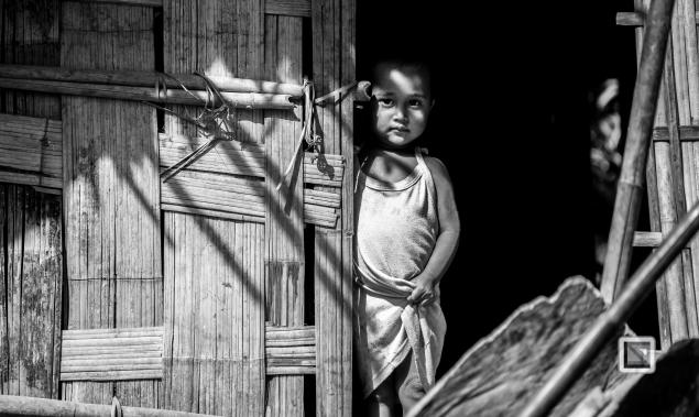 Myanmar Chin Tribe Portraits Black and White Mrauk-U-42