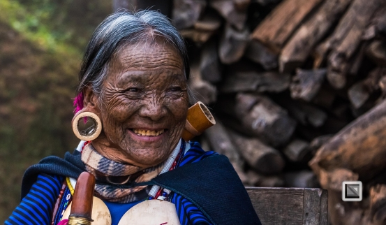 Myanmar Chin Tribe Portraits Color-11