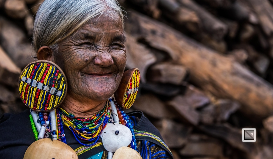 Myanmar Chin Tribe Portraits Color-12