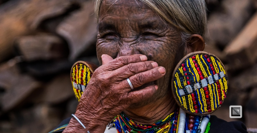 Myanmar Chin Tribe Portraits Color-13