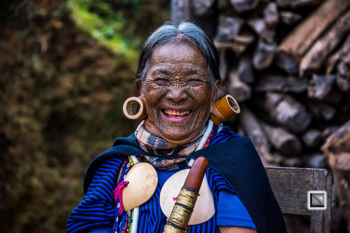 Myanmar Chin Tribe Portraits Color-14