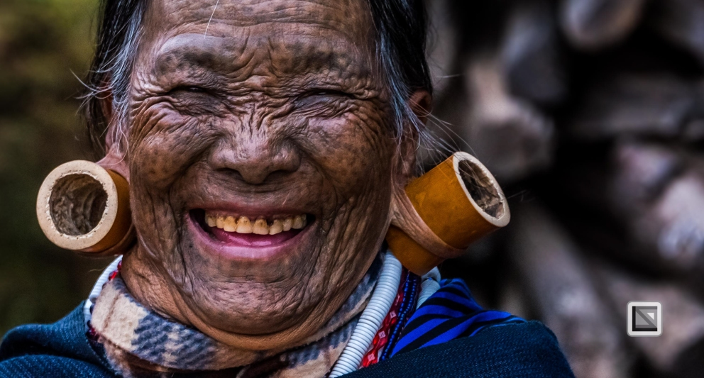 Myanmar Chin Tribe Portraits Color-15