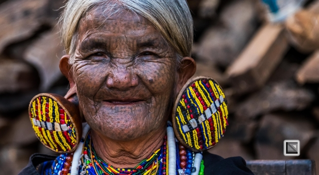 Myanmar Chin Tribe Portraits Color-17