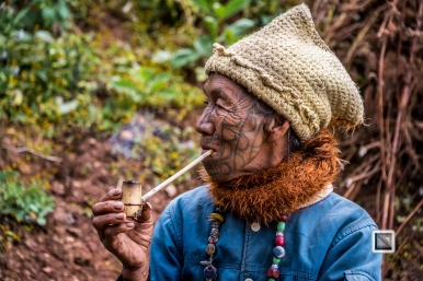 Myanmar Chin Tribe Portraits Color-18