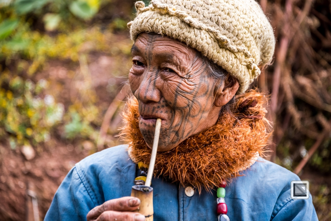 Myanmar Chin Tribe Portraits Color-19