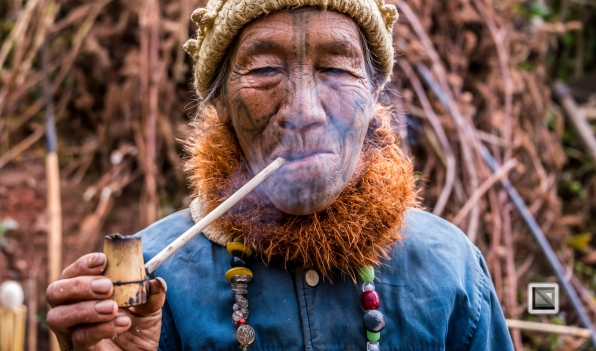 Myanmar Chin Tribe Portraits Color-21
