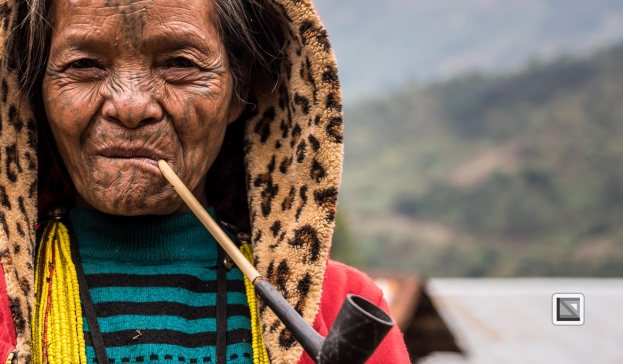 Myanmar Chin Tribe Portraits Color-22