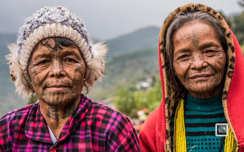 Myanmar Chin Tribe Portraits Color-23