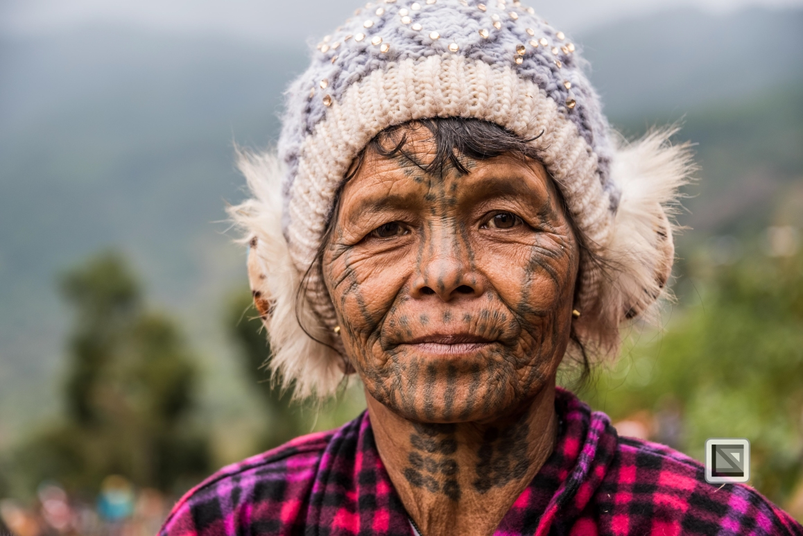 Myanmar Chin Tribe Portraits Color-24