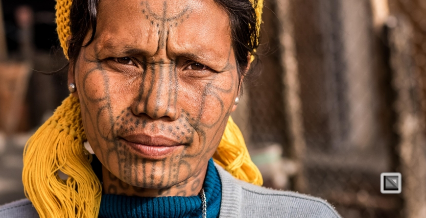 Myanmar Chin Tribe Portraits Color-25
