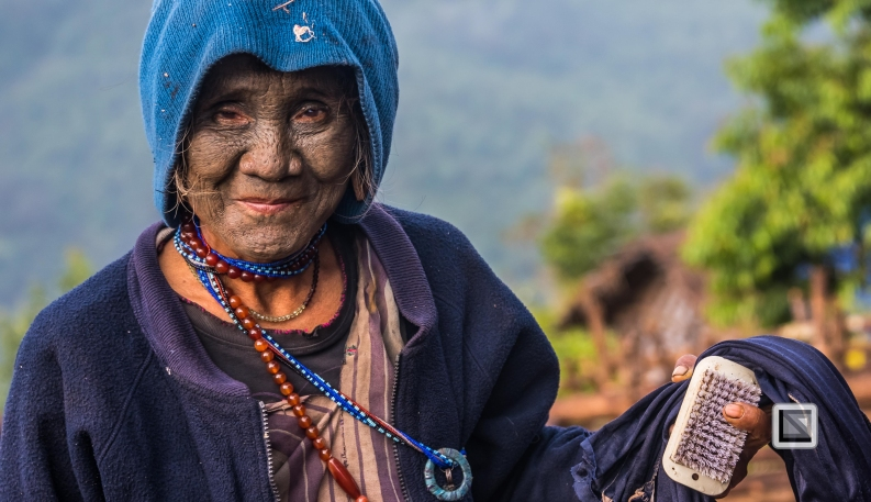 Myanmar Chin Tribe Portraits Color-26