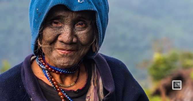 Myanmar Chin Tribe Portraits Color-28